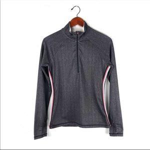 Athleta Lightweight Jacket Black Gray Medium